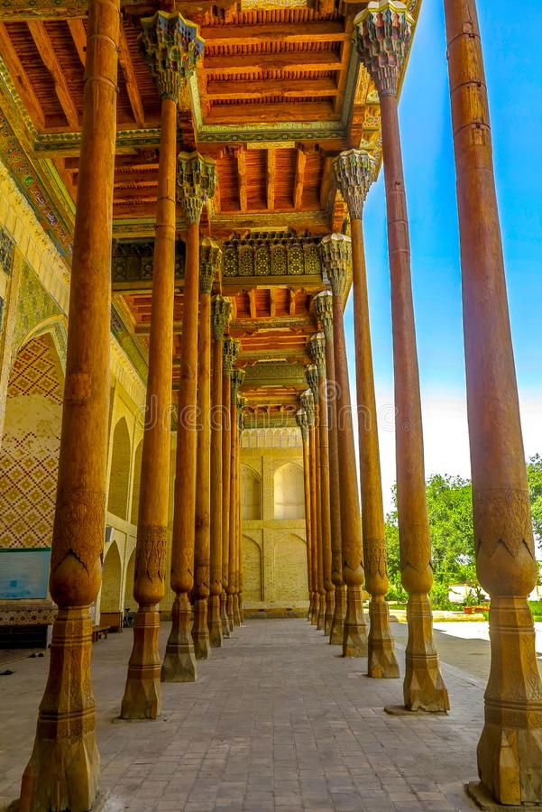 Bukhara gammal stad 30 fotografering för bildbyråer