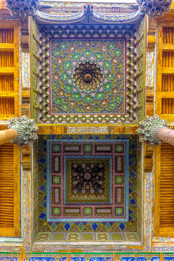 Bukhara gammal stad 31 royaltyfri fotografi