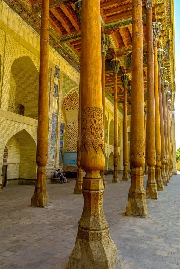 Bukhara gammal stad 29 royaltyfri fotografi