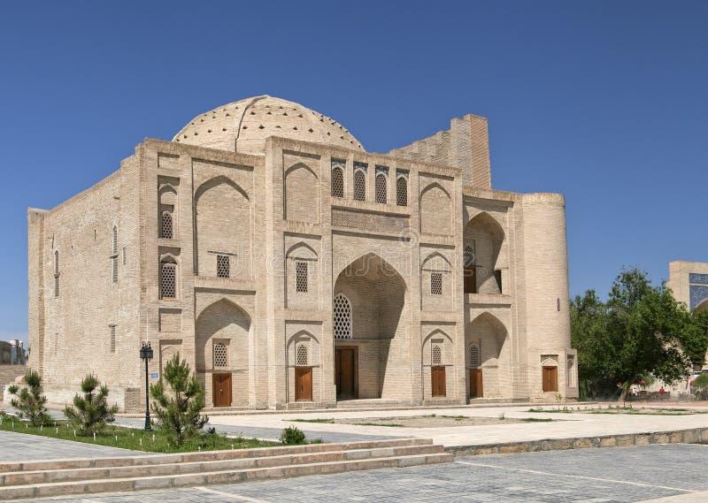 Bukhara Khanqah Nadir Divan Begi arkivfoto