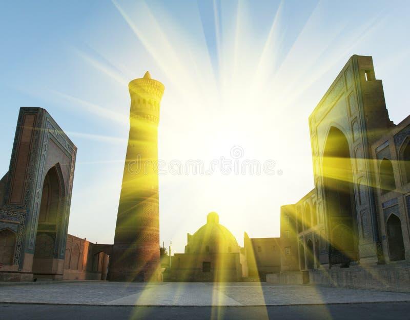 Bukhara pałac obrazy stock