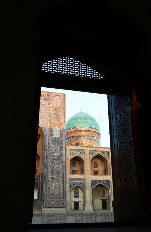 Bukhara pałac fotografia royalty free