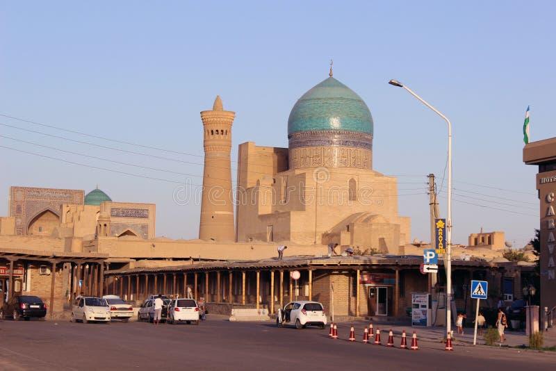 Bukhara, republika Uzbekistan obrazy stock