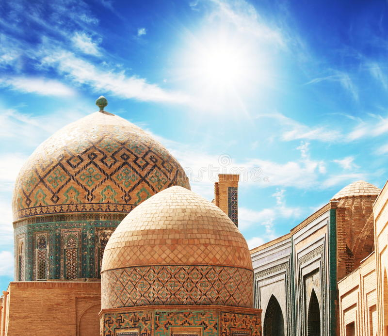 Bukhara slott royaltyfri bild
