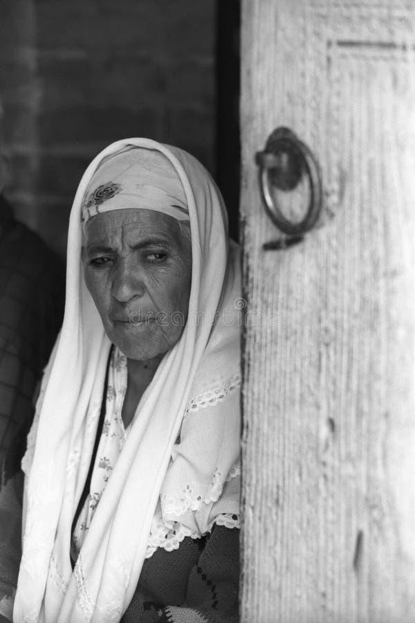 bukhara stara kobieta obrazy royalty free