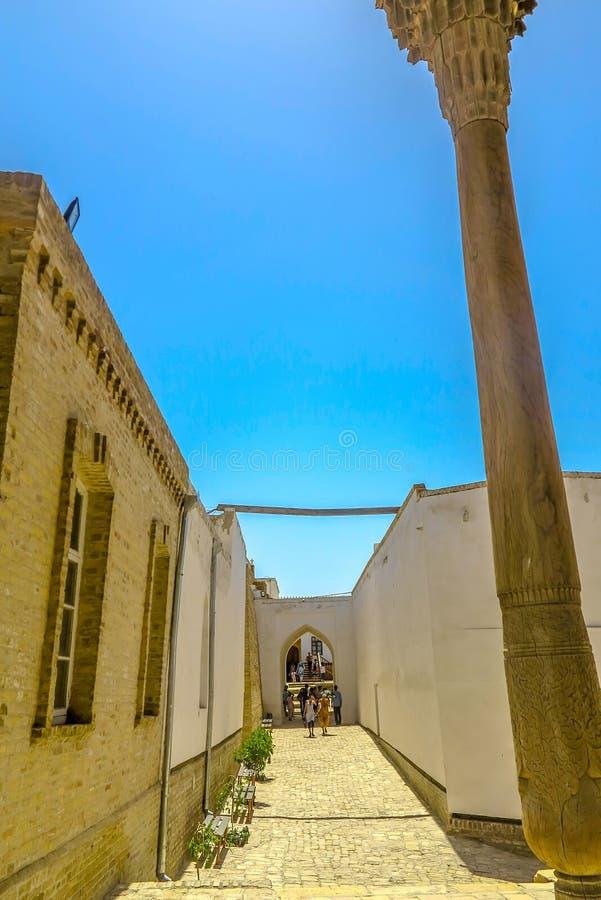 Bukhara Stary miasto 10 obrazy stock