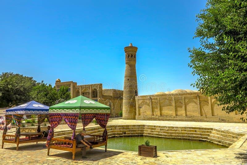 Bukhara Stary miasto 02 fotografia stock