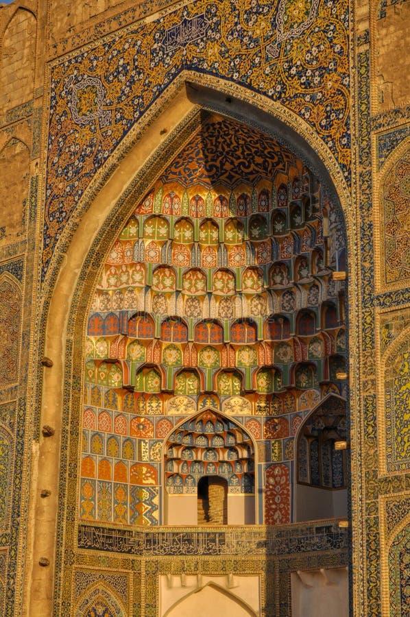 Bukhara Uzbekistan royaltyfri foto