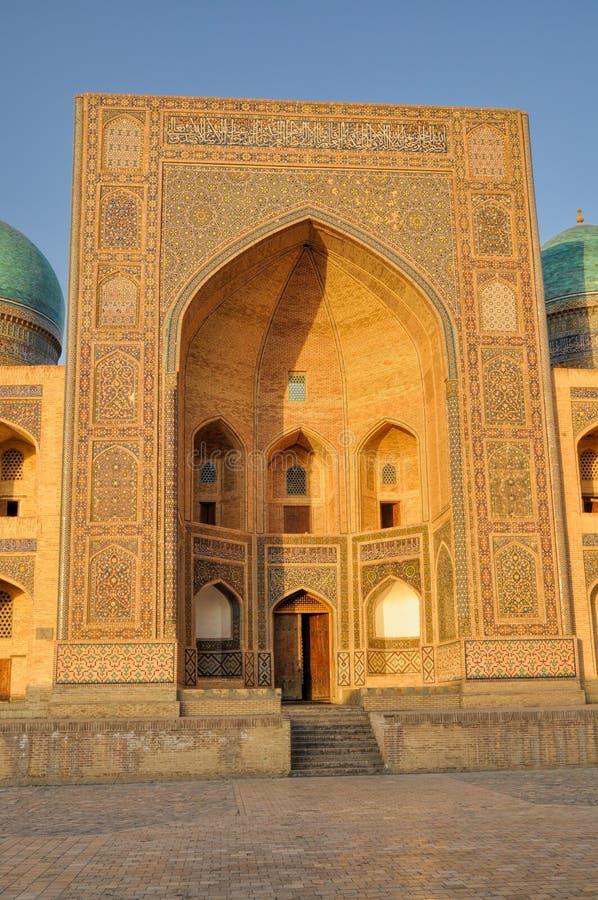 Bukhara Uzbekistan arkivfoton
