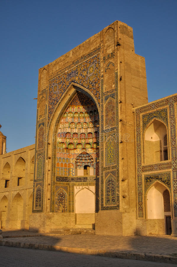 Bukhara Uzbekistan arkivbilder