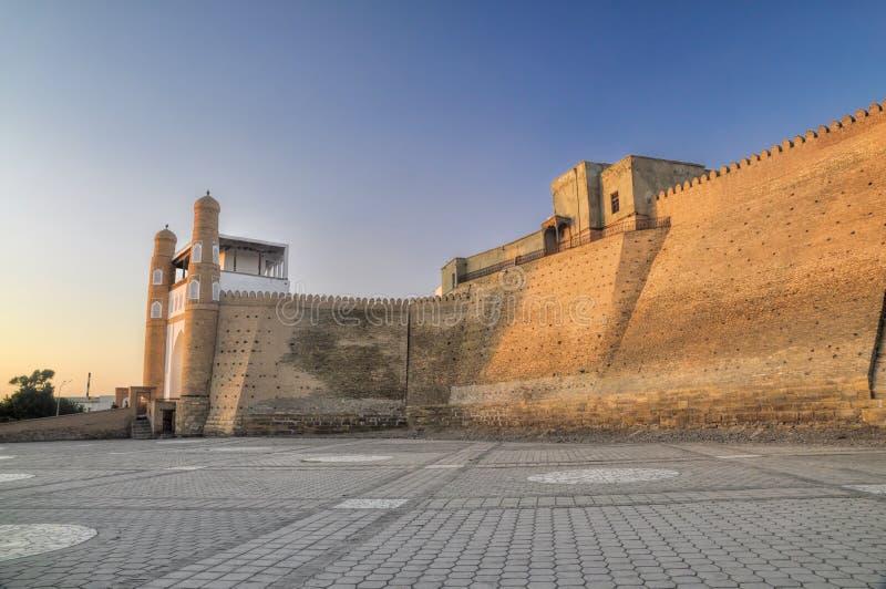 Bukhara Uzbekistan royaltyfria bilder