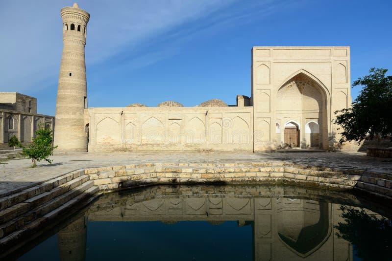 Bukhara, Uzbekistan, Jedwabnicza trasa obrazy royalty free