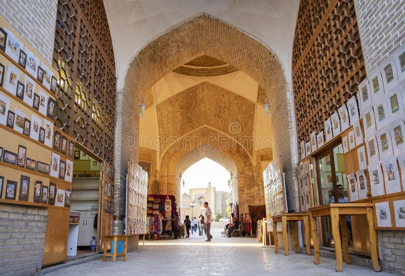 Bukhara Uzbekistan, Maj, -, 01 2019 kopuł rynków w starym miasteczku Bukhara zdjęcie royalty free