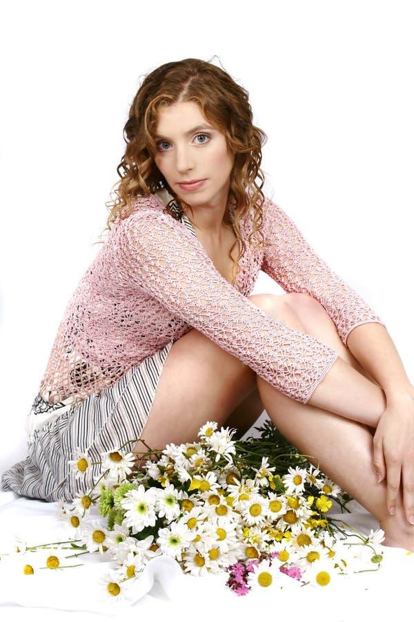 bukiet kwiatów kobiety zdjęcie royalty free