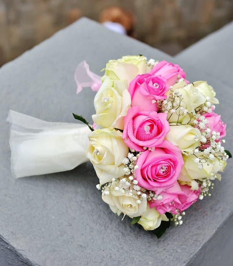 bukiet kwitnie ślub zdjęcia stock