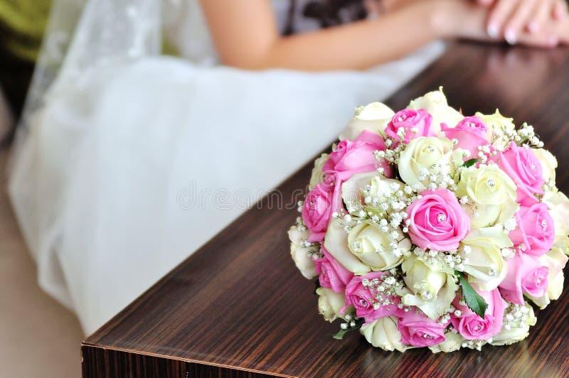 bukiet kwitnie ślub obraz stock