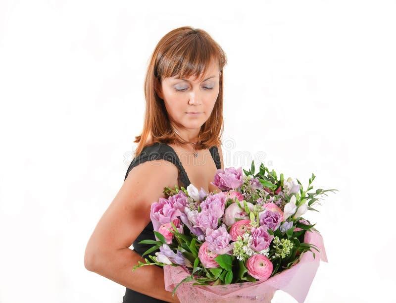 bukiet kwitnie kobiety obraz royalty free