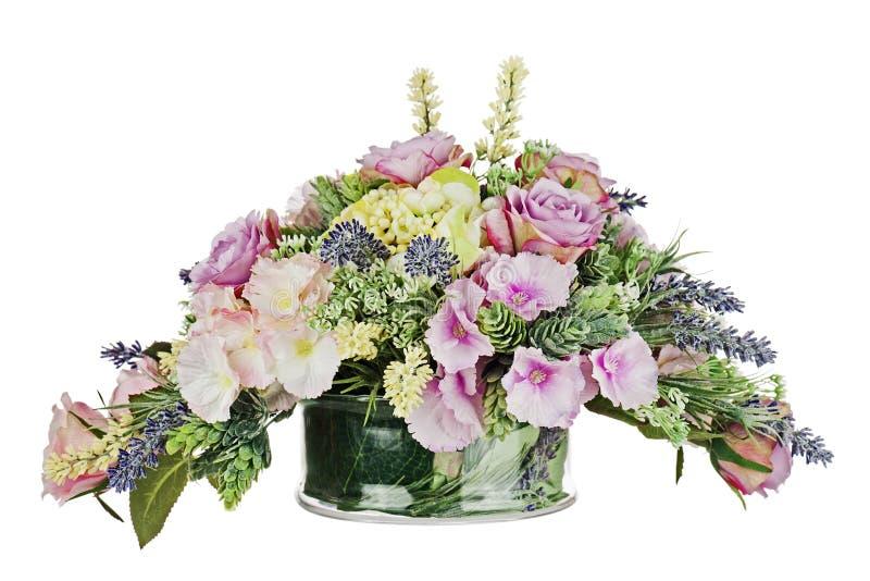 Bukiet od sztucznych kwiatów zdjęcie royalty free