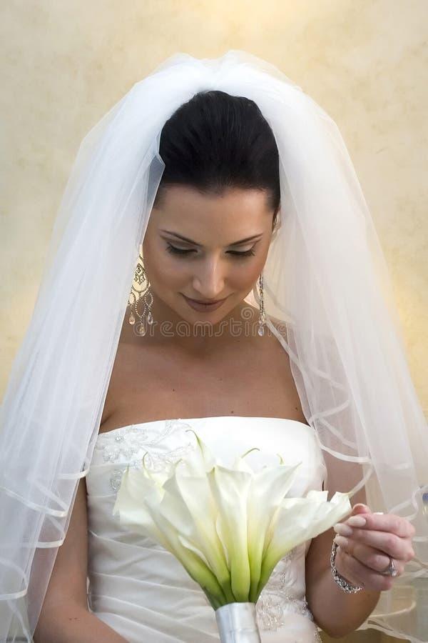 bukiet plażowej pannę młodą karaiby ślub obrazy royalty free