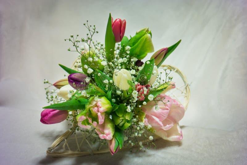 Bukiet tulipany obraz stock