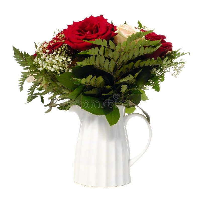 Bukiet w wazie obrazy royalty free
