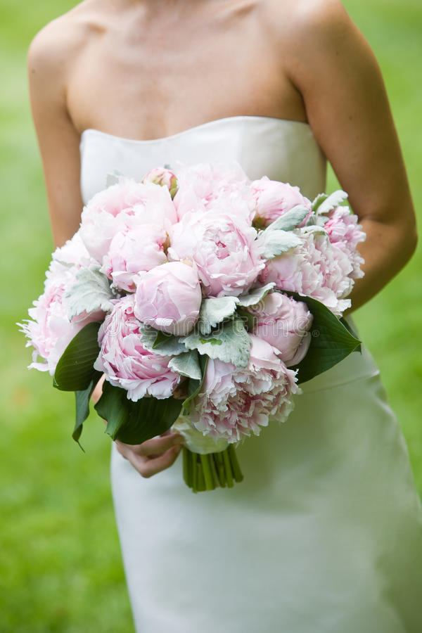 bukieta kwiatów menchie obraz royalty free
