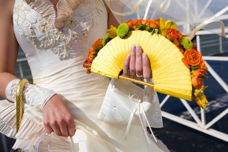bukieta ręki kwiatów ręki obraz stock