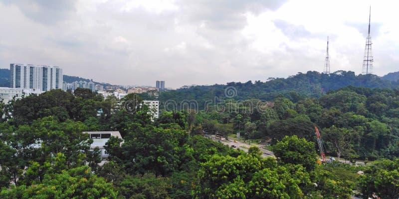 Bukit Batok | Singapore. Residential buildings near Bukit Batok nature park royalty free stock photo