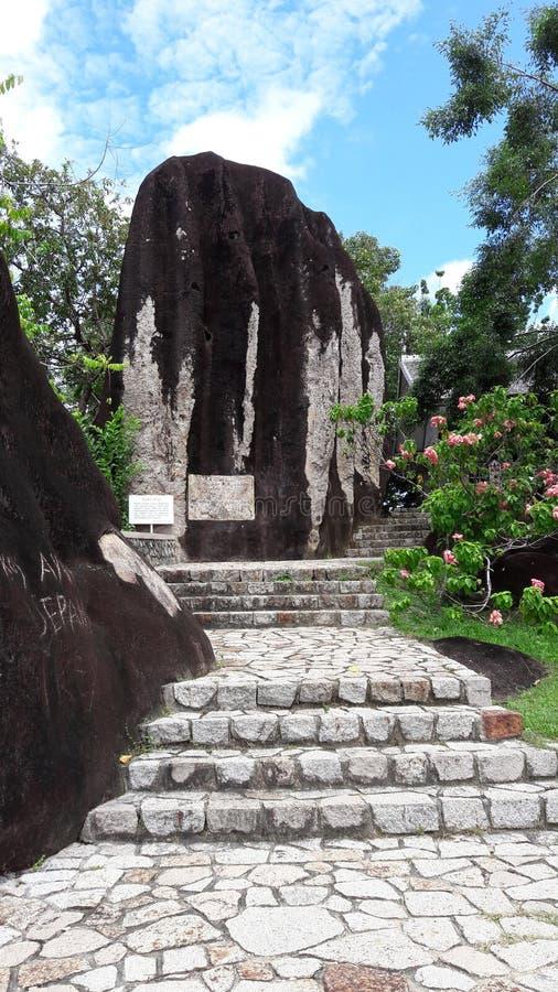 Bukit batu 图库摄影