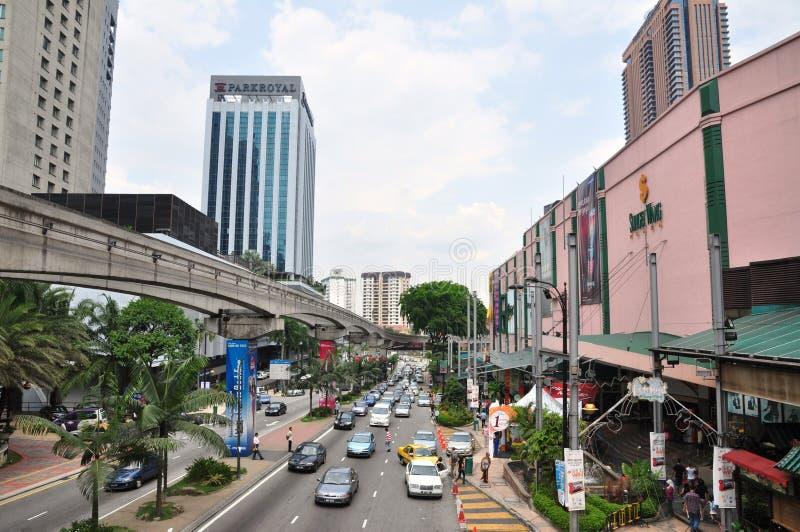 Bukit Bintang Kuala Lumpur images stock
