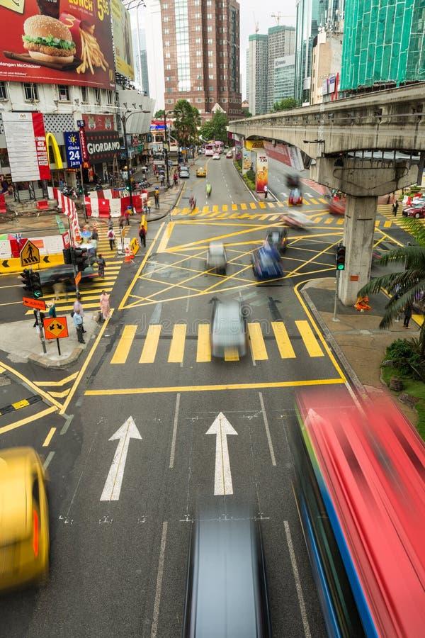Bukit Bintang in Kuala Lumpur immagini stock libere da diritti