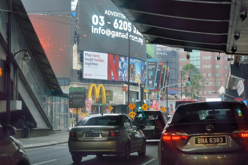 Bukit Bintang Shopping area. The Bukit Bintang shopping scene is home to many designer brands with flagship stores inside popular malls, but there are also stock image