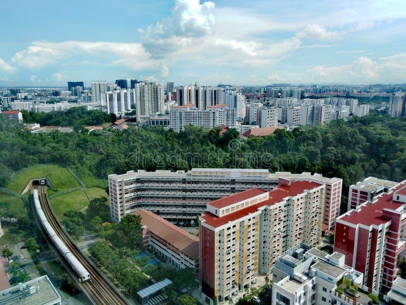 Bukit Gombak, Singapore royaltyfri bild