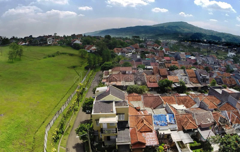 Bukit Sentul de ciel photo libre de droits