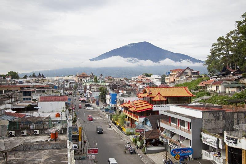 Bukittinggi miasteczko w Zachodnim Sumatra obraz royalty free