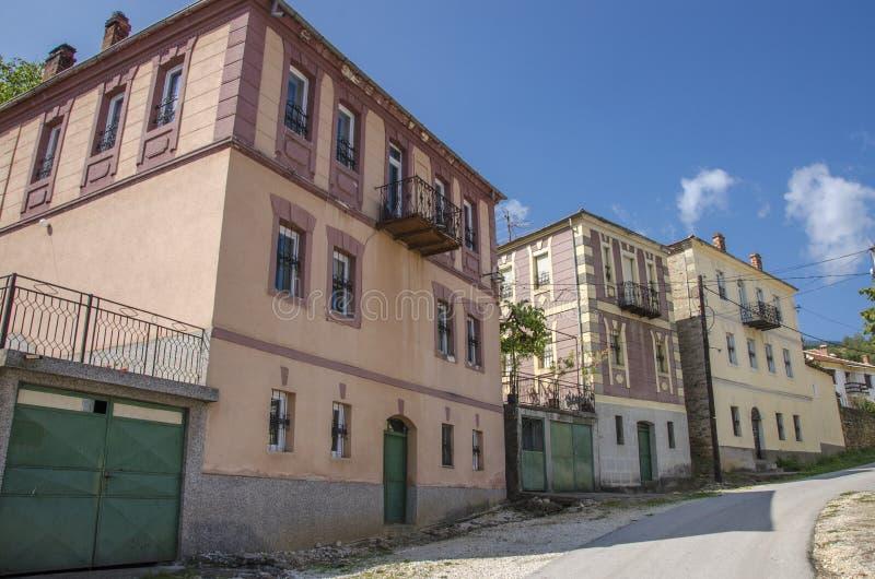 Bukovodorp, Bitola-Gemeente, Macedoni? stock afbeelding