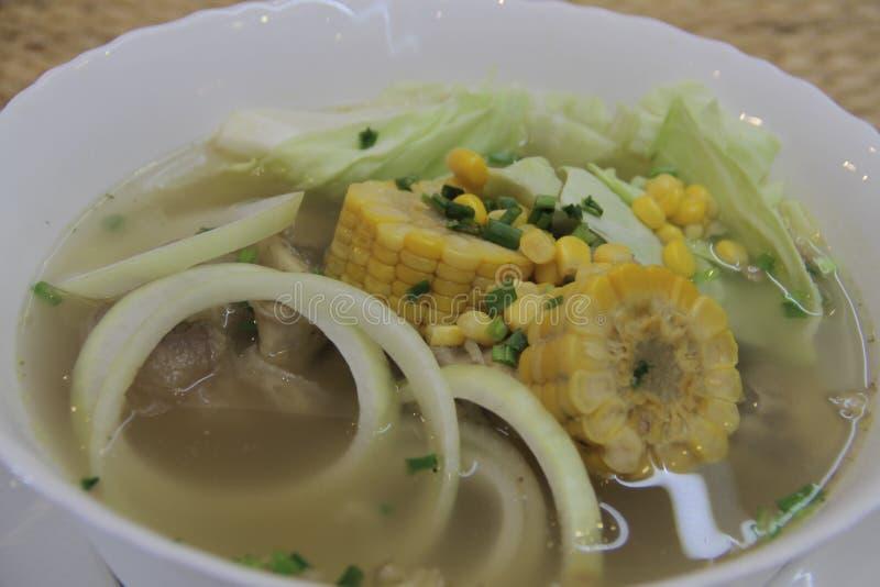 Bulalo pinoy de la receta de Panlasang imagen de archivo libre de regalías