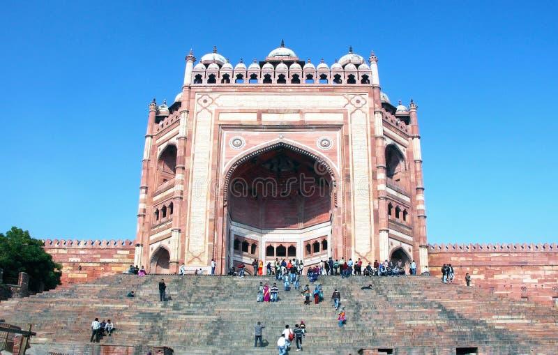 Buland Darwaza, complexe de Fatehpur Sikri, Inde photographie stock libre de droits