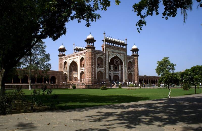 Buland Darwaza de Taj Mahal de Agra foto de stock