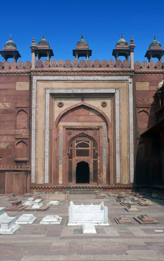 Buland DarwazaHistorical place in Fatehpur Sikri, Uttar Pradesh, india stock photo