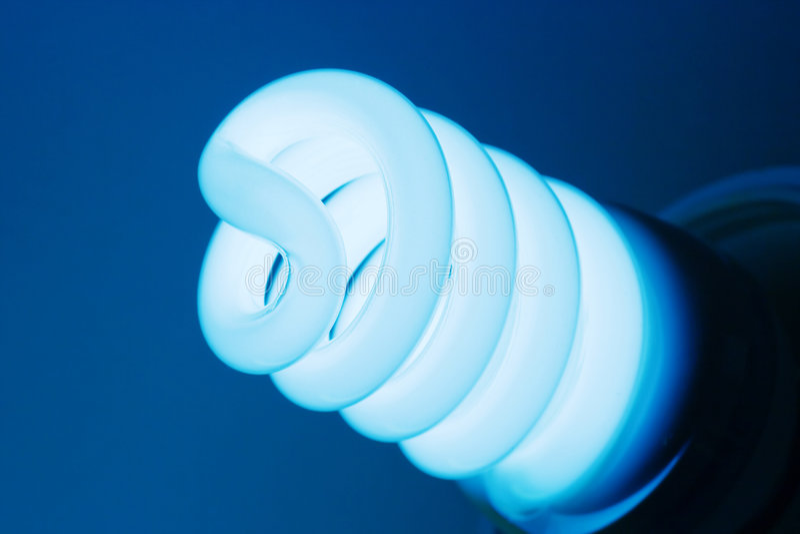 bulb compact fluorescent light royaltyfria foton