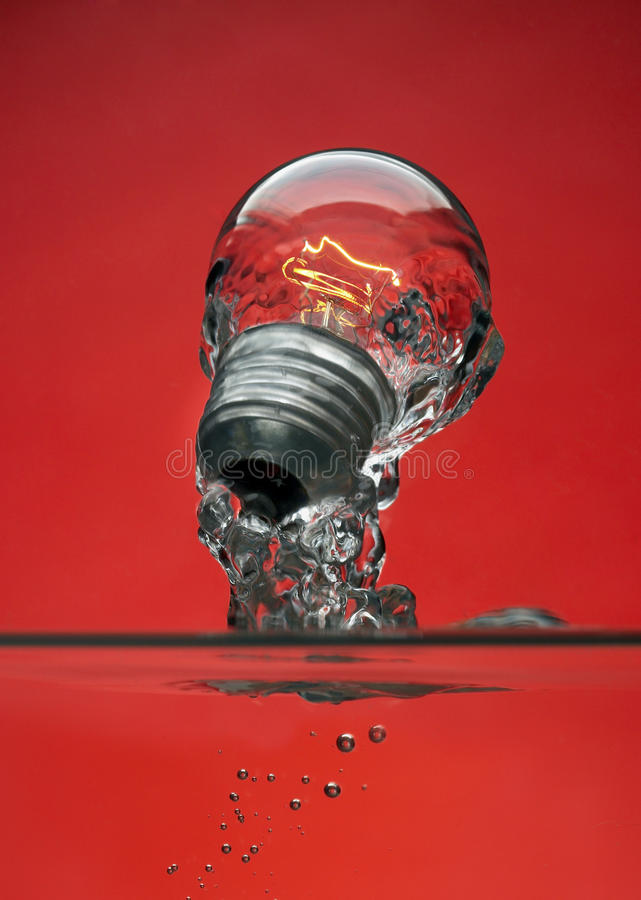 Bulb Concept stock photo