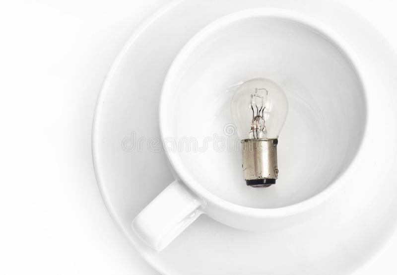 Bulb in cup
