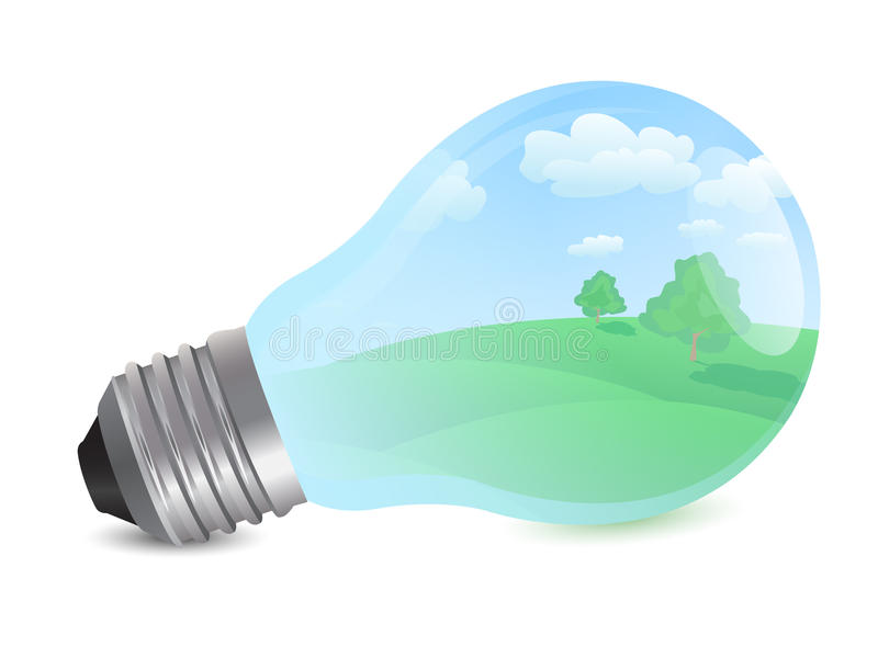 Bulb with eco concept