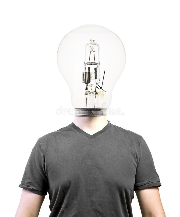 Free Bulb Head Royalty Free Stock Photography - 15857837
