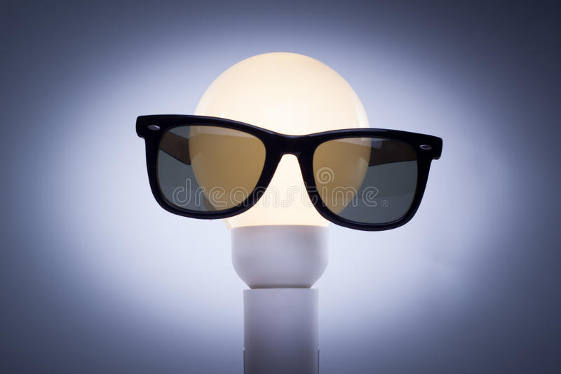 Download Bulb Head stock photo. Image of smile, save, lamp, bulb - 31796808