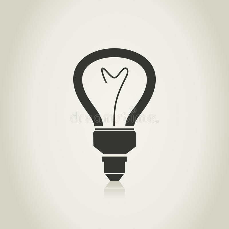 Download Bulb5 stock vector. Image of grey, vector, illustration - 33600703