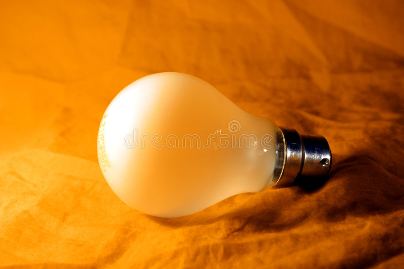 Bulb lamp stock photography