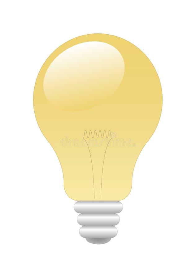 bulb light διανυσματική απεικόνιση