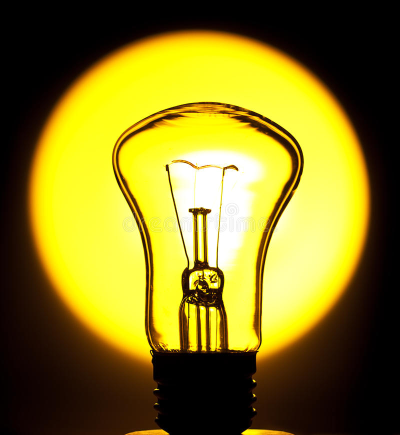 Download Bulb in the sun stock image. Image of object, energy - 23538509
